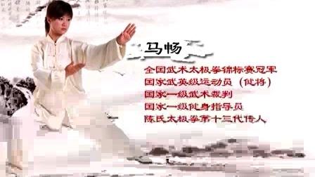 陈氏太极剑49式 马畅