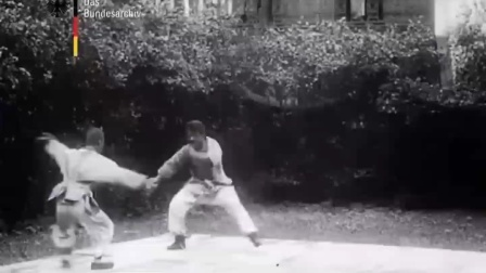 1925年德国人拍摄的中国武术