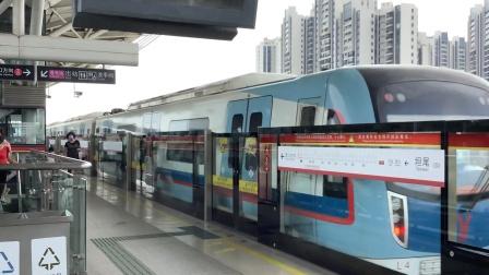 2020年7月26日,广州地铁5号线L4型列车(05x65-66)运行常规交路(文冲~滘口),坦尾2站台出站。[广州地铁集团×滴露消毒液]