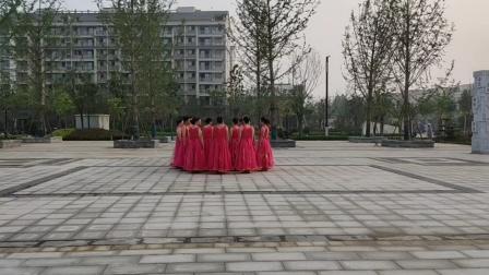 北关清叶舞蹈队26《幸福中国一起走》2020年7月28号
