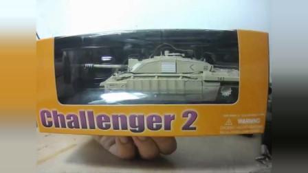 扩展闲谈新老模型 威龙橙盒挑战者2坦克模型