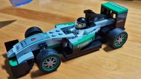 【AG】【速组评测】盛源S牌积木 SY6770 梅赛德斯奔驰AMG一级方程式(F1)