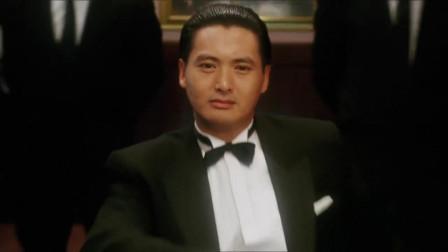 赌神玩了一把牌,就除掉了内奸,让新加坡赌王坐牢!