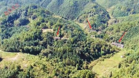 广西大山深处,发现1个无人的山村,就像世外桃源但是没人敢靠近