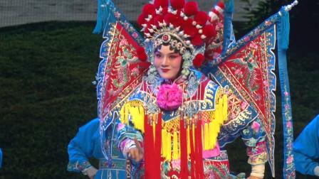 河南豫剧院青年团演员孙贝贝表演《破洪州》久离边庭战马狂