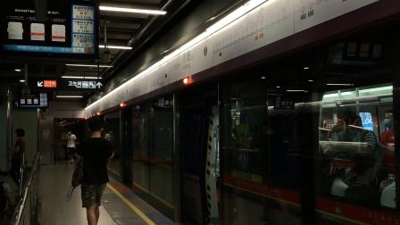 2020年7月28日,广州地铁6号线L3型列车(06×47-48)执行(浔峰岗-香雪)常规交路,燕塘上行3站台出站。[广州地铁集团无广告]