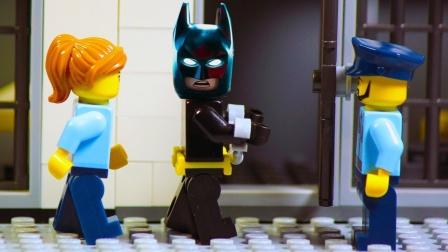 乐高蝙蝠侠vs小丑-家庭抢劫。.