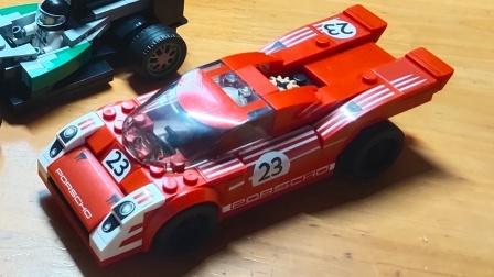 【AG】【速组评测】盛源S牌积木 SY6767  保时捷917K(满满的高砖件,好开心)