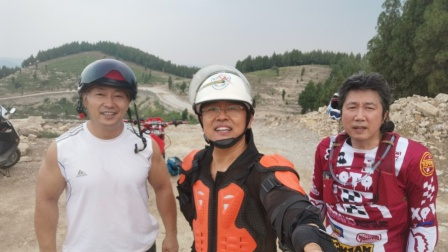 三人行越野大队摩托中队3车型山地PK--2020.7.30