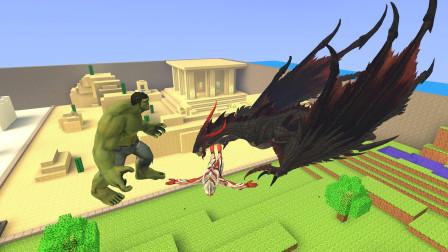 GMOD游戏绿巨人能打败怪兽救出奥特曼吗?