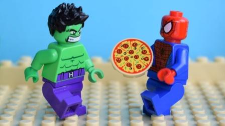 乐高市蜘蛛侠 披萨递送