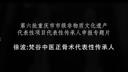 重庆市非物质文化遗产 梵谷中医正骨术代表性传承人-徐波