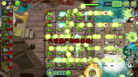 植物大战僵尸2:豌豆五兄弟,谁来也不好使,直接秒杀