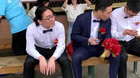 结婚当天新娘接到面试通知