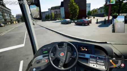 德国长途客车模拟22 酒店班车