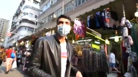 香港土生土长的巴基斯坦人广东话从电视里学的:不想儿子不懂中文