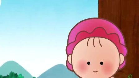 可可小爱:小爱独单的坐在树下,看见狗狗和父母玩耍,十分羡慕