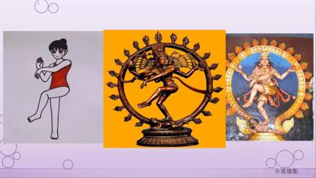 瑜伽体式梵文发音湿婆之舞式