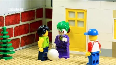 乐高城市火灾和蝙蝠侠vs小丑.