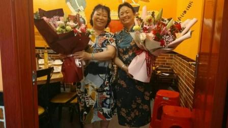 惠州江北念佛拍手操队:《好姐妹生日快乐》,制作于2020年8月2日。