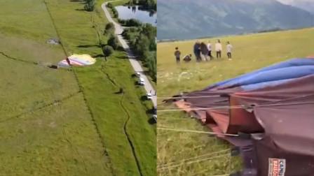 美国3个热气球高空突然坠毁 20人受伤 现场哭喊声一片