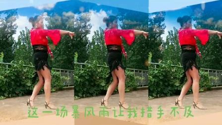 南阳红泥湾小娟广场舞《DJ爱的暴风雨》编舞,新风尚,陈敏老师,