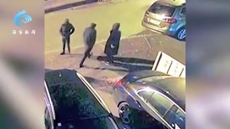 英四名歹徒悍然踹门抢劫 不料家犬被砍伤仍拼死抵抗 四人落荒而逃