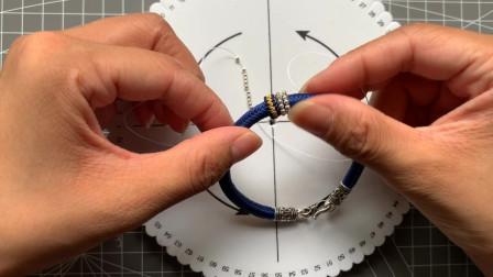 2mm迷你珠子线圈制作方法九乘迦叶银珠线圈教程