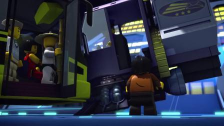 新幻影忍者城到处是机械化,忍者们都过时了,被称为路人甲