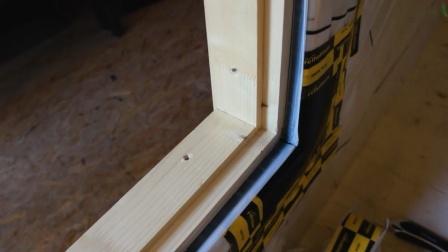 窗户的密封-薄膜胶带