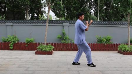 正雷太极书院刘家瑞老师演示:陈氏太极拳老架一路 第六段