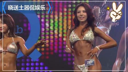 韩国健身小姐选秀比赛,五位健身小姐,还是亚洲美女看着舒服有感觉