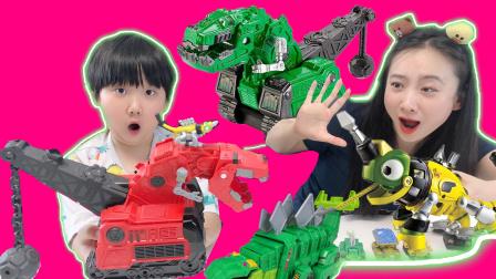 恐龙卡车霸王龙腕龙三角龙剑龙卡车