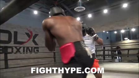超中量级黑人拳手实战 LORENZO SIMPSON VS. DENIS DOUGLIN
