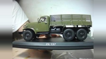 ZIL157卡车1:43模型 闲谈