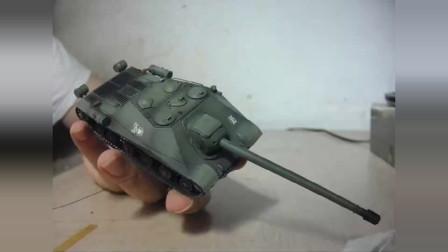 704工程 树脂1:72模坦克模型 闲谈 八爪鱼版OKB