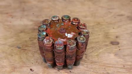 一个不常见的火机,修复好之后是很多男孩子梦想吧