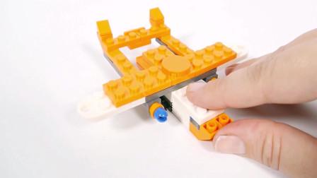 积木拼装飞机