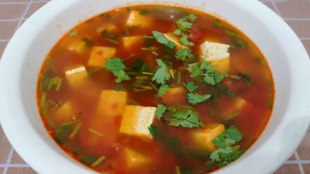 为啥饭店的西红柿豆腐汤那么好喝?技巧原来是这些,做法真不错!