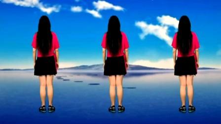 新歌新舞好学易跳《谁家的姑娘》背面教学演示完整版