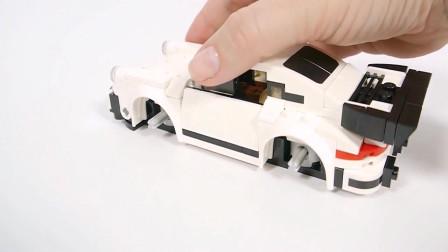 积木跑车的拼装