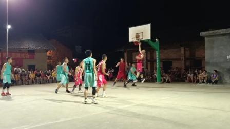 苍梧沙头镇第二届青年篮球运动会袍岭一果园③
