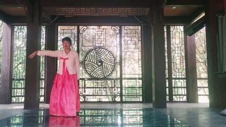 朝鲜舞《我家在金达莱盛开的地方》
