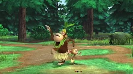 熊出没之夺宝熊兵:吉吉毛毛的草裙舞,跳着还吵起来了!(1)
