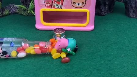 乔治吃了好多的糖果,结果怎么变成怪兽了,奥特曼都来找他了