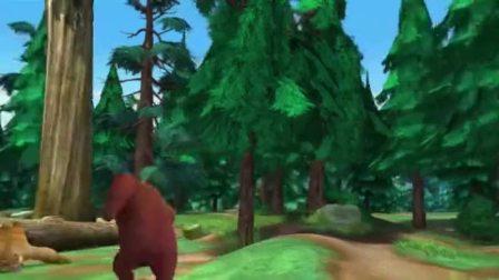 熊出没之夺宝熊兵:森林小队集合,观看吉吉国王的歌剧!