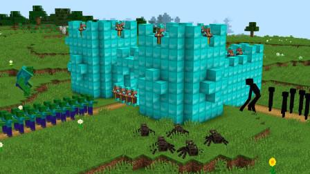 村民误喝魔法泉水后,竟变身成了僵尸国王,召唤怪兽统治村庄!