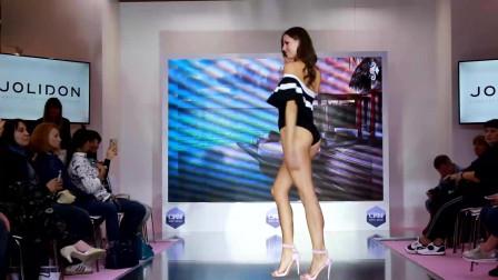 经典T台秀:2020巴黎时装周模特大赛泳装走秀第7部分