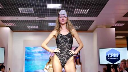 经典T台秀:2020巴黎时装周模特大赛泳装走秀第8部分