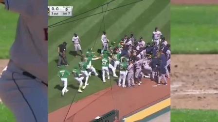 棒球联赛上发生的斗殴事件